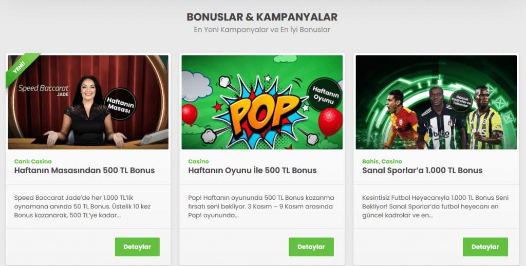 Bets10 Bonuslar Ve Kampanyalar