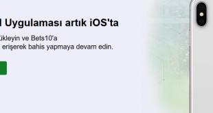 Bets10 Mobil Giriş